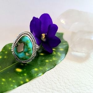 Beautiful Sonoran gold turquoise ring